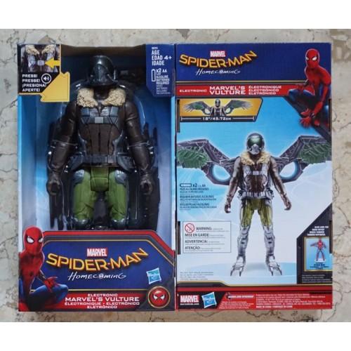 """Spiderman Homecoming - 12"""" Vulture / Artikulasi & Suara / Spider man"""