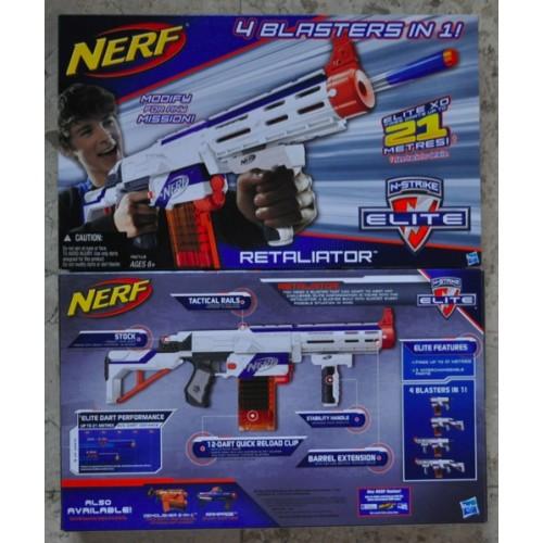 NERF -RETALIATOR - 4 in 1 BLASTER