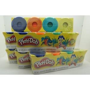 PLAYDOH Classic color BRIGHT 4 packs / Play Doh / Mainan lilin dough