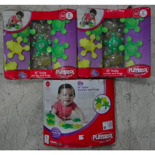 Playskool lil links - Turtles and Frog