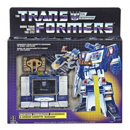 Transformers G1 Deception - SOUNDWAVE