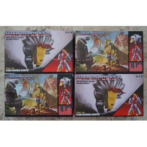 Transformers DX9 Dinobots Slug & Sludge / X18 - X19 Bumper Quacker