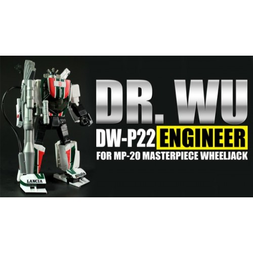 Dr.Wu DW-P22 Engineer - MP 22 Wheeljack add on
