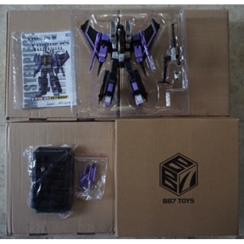 Transformers Masterpiece Skywarp - BB7 Skywarp - MP11SW Seekers