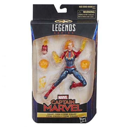 Marvel Legends - CAPTAIN MARVEL Binary Form