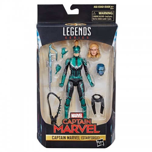 "Marvel Legends Series Captain Marvel Movie 6"" (STARFORCE)"