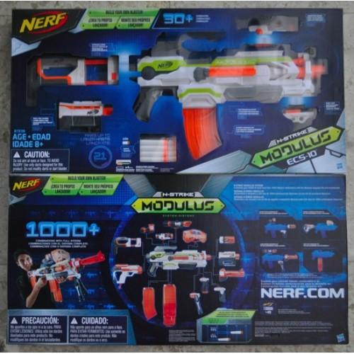 NERF Modulus ECS-10 Blaster