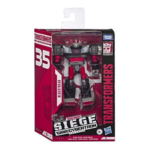 Transformers WFC Deluxe 35TH aniv - BLUESTREAK