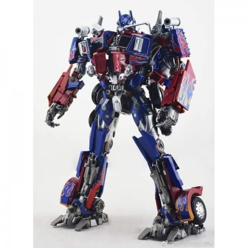 Weijiang Black Apple Optimus Prime
